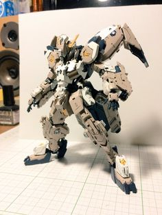 HG 1/144 Gundam Gusion Rebake Full City - Customized Build Modeled by kojimalabo