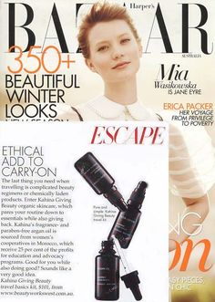Harper's Bazaar Australia | Kahina Giving Beauty Travel Basics Kit with Argan Oil, Facial Lotion, and Facial Cleanser