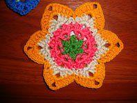 Star Coaster crochet pattern