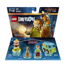 Electronics LCD Phone PlayStatyon: Scooby Doo Team Pack - LEGO Dimensions