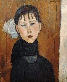 Amadeo Modigliani - La Marie petite