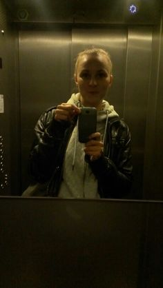 Selfie w windzie być musi! :)