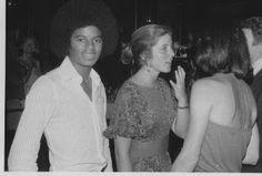 Michael Jackson and Caroline Kennedy