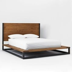 Copenhagen Reclaimed Wood Bed | West Elm