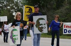 Light of Dr. King's legacy shines brightly for Gifford parade - w/photos