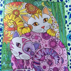 Twinsy cat coloring pages