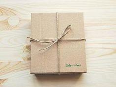 Делаем стильную коробочку из картона   Ярмарка Мастеров - ручная работа, handmade