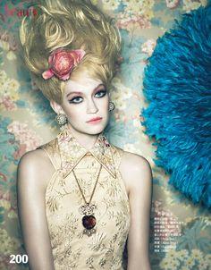 """Doll Face""   Model: Shane Seng, Photographer: Yossi Michaeli, Vogue Taiwan, December 2012"