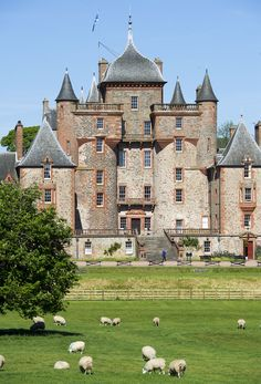 Thirlstane Castle: visit the room Bonnie Prince Charlie stayed in as you explore this castle which dates back to the 13th century!