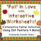 The word 'worksheet' can be looked down upon...but not when you turn them into an interactive learning center!!  Do your students love to use dot p...