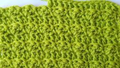 Modified Silt Stitch: A Crochet Tutorial