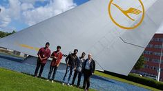 ICPF Tech students, who started their coursework with IAS this summer, visited Lufthansa Technik in Hamburg.