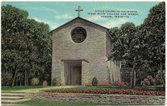 Little Chapel in the Woods, Texas State College for Women, Denton, Texas