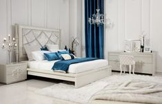 white-cream-tall-headboard-beds-with-blue-blanket-and-grey-bedside-table-and-blue-curtain-also-soft-grey-desk-on-white-rug-area-with-exciting-home-accessories.jpg 640×412 pixels
