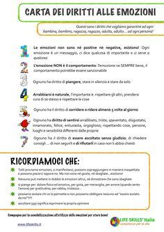 La Carta dei Diritti alle Emozioni - Life Skills Italia