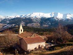Région di Corti -  Albertacce Calasima église et Punta Artica - Albertacce (E Lupertacce) est située dans le département de la Haute-Corse.