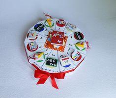 Weiteres - Geldgeschenk  Einschulung, Schachteltorte - ein Designerstück von Bastelhummel bei DaWanda