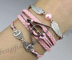 harry potter themed wedding | Harry potter , Harry Potter Snitch and Owls Charm Bracelet--Silver ...