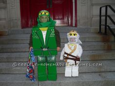 Best DIY Lego Ninjago Brothers Costumes… Coolest Halloween Costume Contest