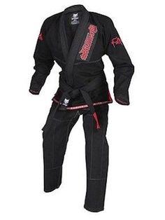 302358ceaa000 Gameness Feather Brazilian Jiu Jitsu BJJ Gi Black g1120