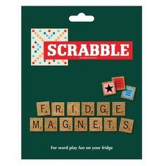 100+ SCRABBLE RETRO BOARD GAME LETTER TILES KITSCH COOL FRIDGE MAGNETS BNIB on eBay!