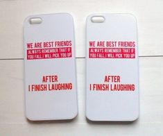 After i finish laughing best friend cases iphone phone cases, cute phone cases, diy Bff Iphone Cases, Bff Cases, Funny Phone Cases, Ipod Cases, Cute Cases, Iphone 5c, Apple Iphone, Best Friend Cases, Friends Phone Case