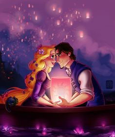 tangled in love!