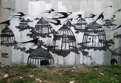 Hyuro - street art onirique