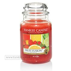 Yankee Candles | Yankee Candle | Fruit Fusion Large Jar