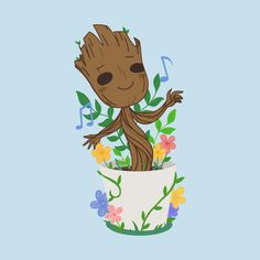 Check out this awesome 'Baby Groot' design on @TeePublic!