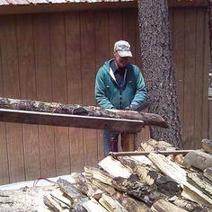 easytouse sawbuck for cutting firewood diy