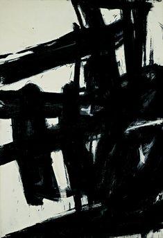 "Franz Kline (American): Oil Painting, ""Turbin"" (1959) [National Gallery of Art, Washington, D.C.]"