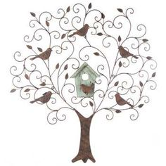 """See our website for more relevant information on """"metal tree wall art decor"""". It is actually an excellent area for more information. Metal Tree Wall Art, Metal Wall Decor, Metal Art, Tree Wall Decor, Wall Art Decor, Wall Murals, Room Decor, Vinyl Shutters, Wood Tree"""