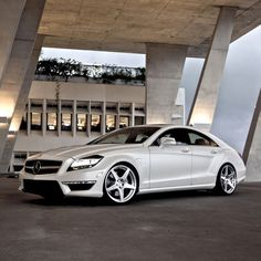 Mercedes-Benz CLS63 AMG - think I could make this car look good too.