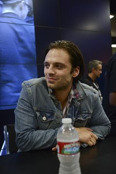SDCC 2013: Captain America Winter Soldier Signing Sebastian Stan by Marvel Entertainment, via Flickr