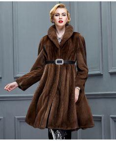 Mink fur coat Full Skin SAGA MEXA #Handmade #BasicCoat