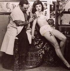 Tattoo Tatouage Vintage, on se marque la peau depuis la nuit des temps.