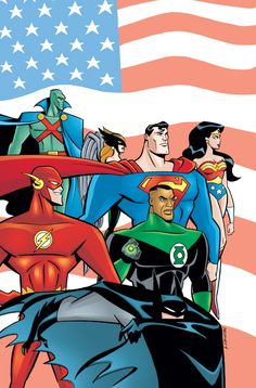 Justice League Family Photo