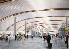 nordic office of architecture oslo international airport expansion designboom