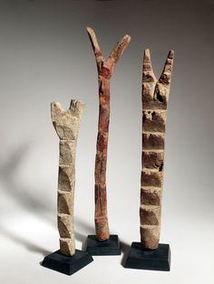 Échelles votives Dogon (Mali)