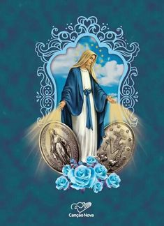 Religious Pictures, Jesus Pictures, Religious Art, Mother Mary Images, Images Of Mary, Catholic Beliefs, Catholic Prayers, Blessed Mother Mary, Blessed Virgin Mary