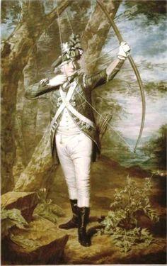 Nathaniel Spens, 1793 by Henry Raeburn