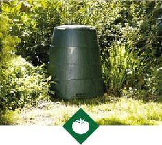 Garden Compost Bin   Green Johanna with Winter Jacket   Great Green Systems