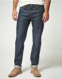 Levi's 508 Straight Selvedge Straight Jeans