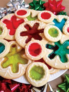 Holiday Recipe: Stained Glass Cookies #baking #christmas #homemade