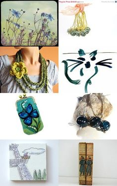Surprise Me! by virginia wulf #Etsy #1onecircle #art #vintage #handmade  --Pinned with TreasuryPin.com