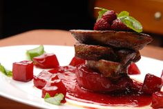 I want to eat this! MmMm..     California Chefs Fight Ban on Foie Gras