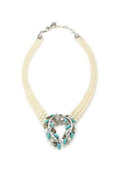 On ideeli: BEN-AMUN Crystal Marquise Statement Necklace