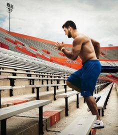 The Tim Tebow Workout for running stadiums. @Hannah Zugay I know it's Gator related, but I thought it might be a good starter workout for you and me :)