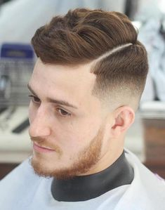 Classy taper fade cuts for men. Amazing men fading hairstyles. Top taper fade…